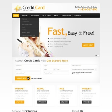 Bank Website Template