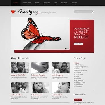 Charity Joomla Template