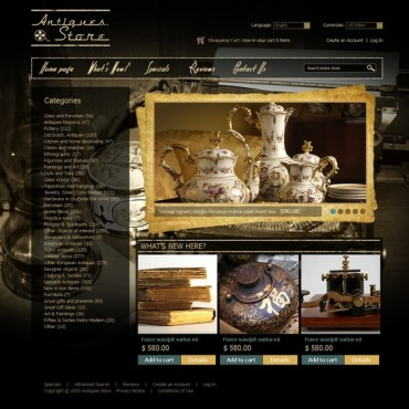 Interior Design OsCommerce Template