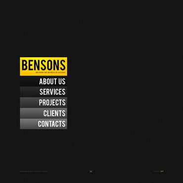Business Facebook Flash CMS Template