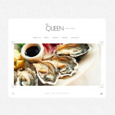 European Restaurant Flash Template