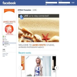 Photo Studio Facebook Template