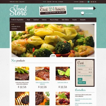Food Store PrestaShop Theme