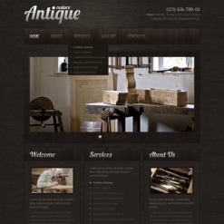 Antique Store Turnkey Website 2.0