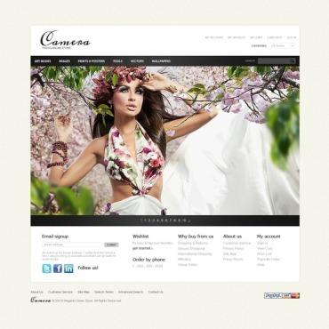 Stock Photo Magento Theme