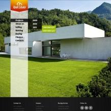 Real Estate Website Template