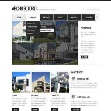 Architecture Drupal Template