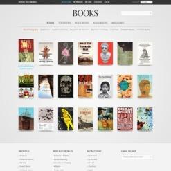 Book Store Magento Theme