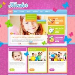 Kids Center Website Template