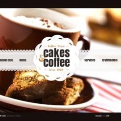 Coffee Shop Flash Template