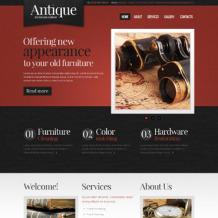 Antique Store Website Template