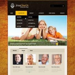 Christian Website Template