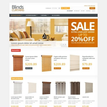 Window Decor Magento Theme