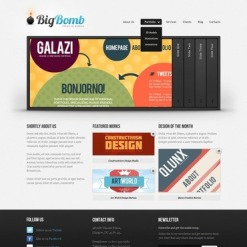 Design Studio Website Template
