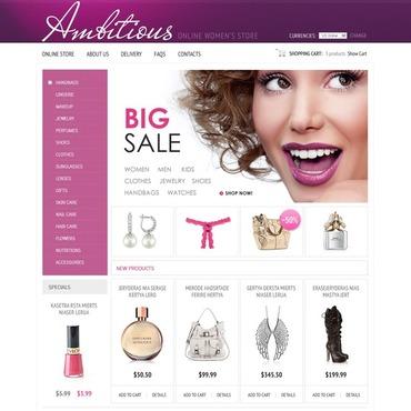 Cosmetics Store VirtueMart Template