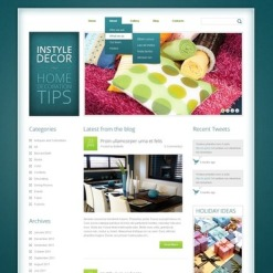 Home Decor Drupal Template