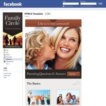 Family Center Facebook Template