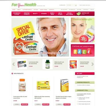Drug Store Magento Theme