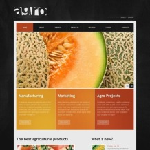 Agriculture Website Template