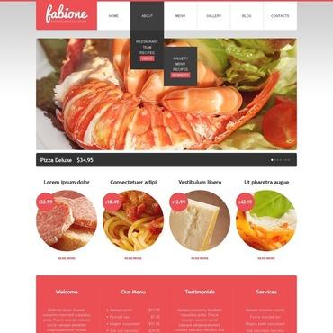 Seafood Restaurant Drupal Template #38729