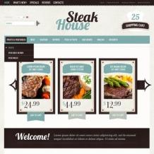 Steakhouse OsCommerce Template