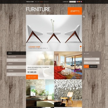 Interior Design PrestaShop Theme