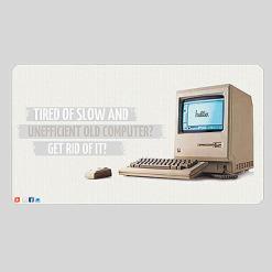 Computer Store Facebook Template