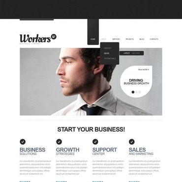 Management Company Drupal Template