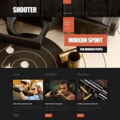 Gun Shop Website Template