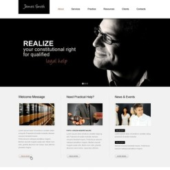 Lawyer Responsive Website Template