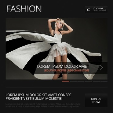 Fashion Facebook Template