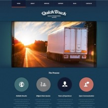 Trucking Joomla Template