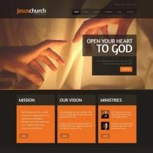 Religious Website Template