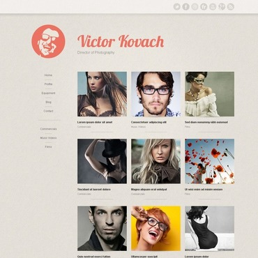 Model Agency Joomla Template