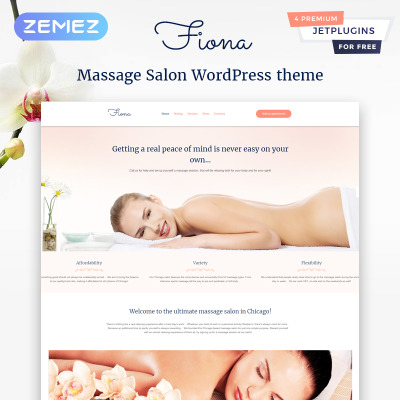 Beauty Spa & Massage Salon WordPress Theme
