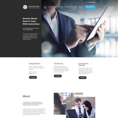 Joomla Template for Accountants