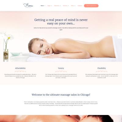 Massage Salon Template