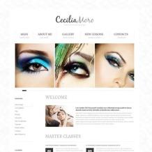 Beauty School Website Template