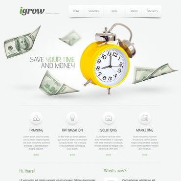 SEO Website WordPress Theme