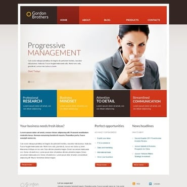 Management Company Responsive WordPress Theme