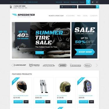 Motor Sports OpenCart Template