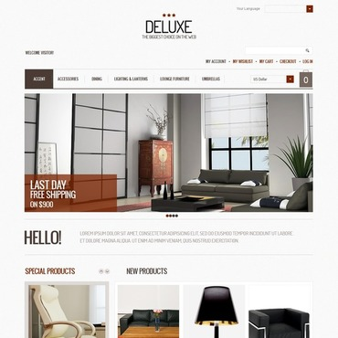 Interior Design Magento Theme