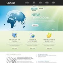 Security WordPress Theme