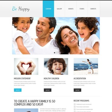 Family Center Joomla Template