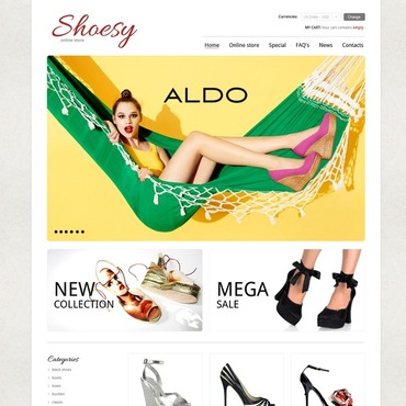 Shoe Store VirtueMart Template