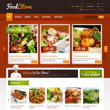Food Store PrestaShop Theme