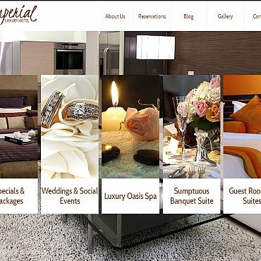 Hotels Moto CMS HTML Template