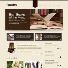 Book Reviews Moto CMS HTML Template