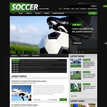 Soccer Drupal Template