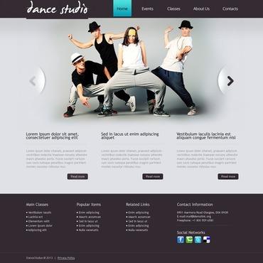 Dance Studio Responsive Drupal Template